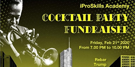iProSkills Academy Jazz Night-Cocktail Party Fundraiser  tickets