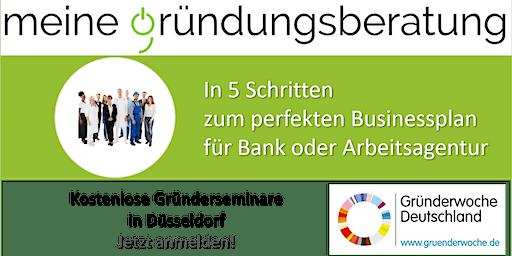 In 5 Schritten zum perfekten Businessplan für Bank oder Arbeitsagentur