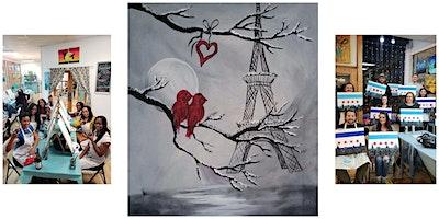 "BYOB Sip & Paint Event - ""Lovebirds in Paris"""