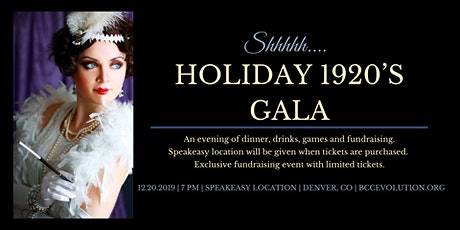 Holiday 1920's Gala tickets