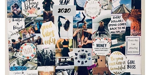 Vision Board Making Party