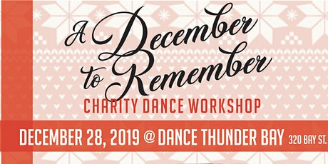 """A December to Remember Dance Workshop"" tickets"