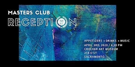 Masters Club Reception tickets
