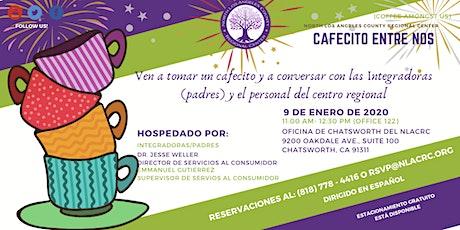 Cafecito Entre Nos - 9 de enero de 2020 tickets