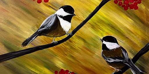 Two Chickadees at Meadow Lake Resort