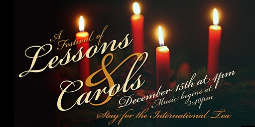 A Festival of Lessons & Carols