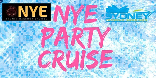 NYE PARTY CRUISE $299 FOR 7HRS ON SYDNEY HARBOUR 50% OFF SALE