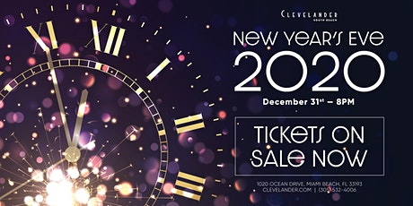 New Years Eve at Clevelander South Beach tickets