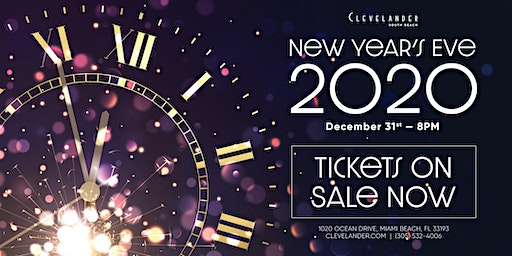 New Years Eve at Clevelander South Beach