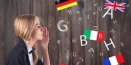 Meet your language partner tickets