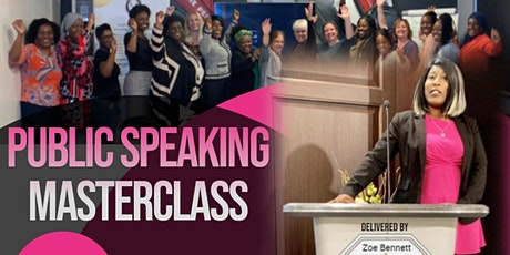 Public Speaking Masterclass with the Motivational Queen® tickets