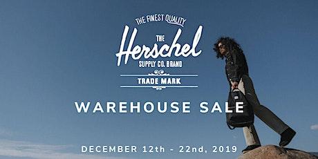 Herschel Supply Warehouse Sale - Santa Ana, CA tickets