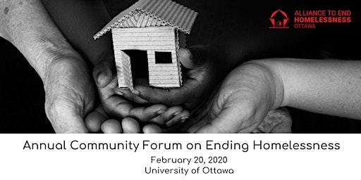 Annual Community Forum on Ending Homelessness