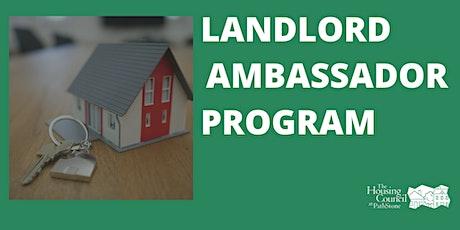 Landlord Ambassador Program Open House tickets