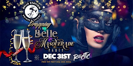 """NYE 2020: """"Dropping The Belle"""" Masquerade Themed Party tickets"""