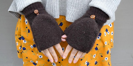 Upcycled Glittens: Fingerless Gloves workshop at Ragfinery tickets