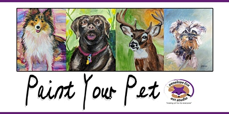 Paint Your Pet (or any animal) in Acrylic tickets