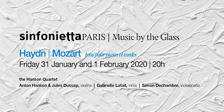 ⟪Music by the Glass⟫ In the heart of winter: Friday, 31 January 2020 | 8pm tickets
