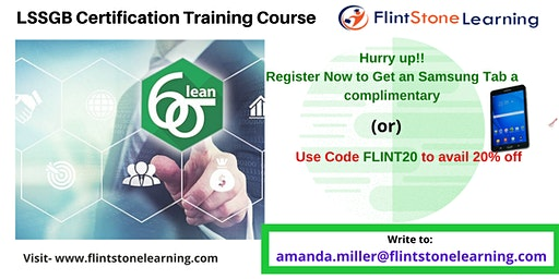 Lean Six Sigma Green Belt (LSSGB) Certification Course in Burlington, CA