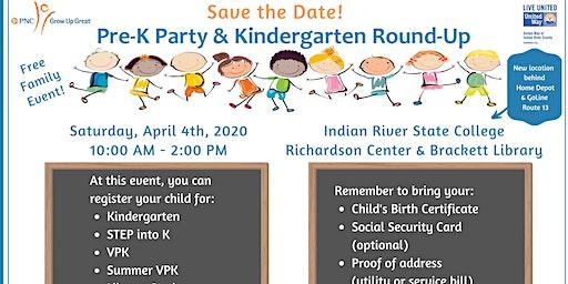 Pre-K Party & Kindergarten Round-up