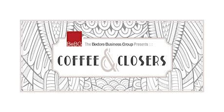 Coffee & Closers - Season 3, Ep 2 feat. Alyza Bohbot tickets