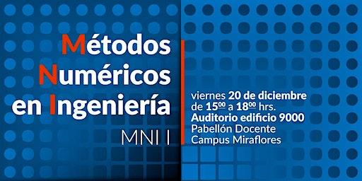 """Primera Jornada """"Métodos Numéricos en Ingeniería"""" MNI I"""