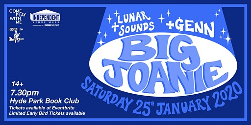 Big Joanie & ĠENN & Lunar Sounds, Live at Hyde Park Book Club