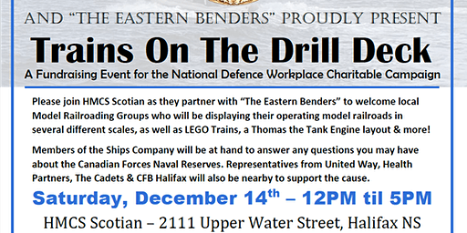 HMCS Scotian Trains on the Drill Deck Fundraiser