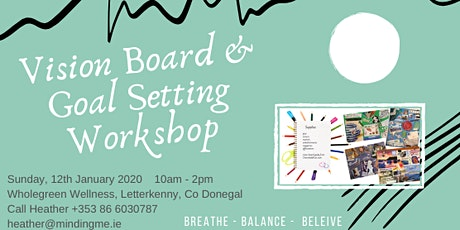 Vision Board & Goal Setting Workshop tickets