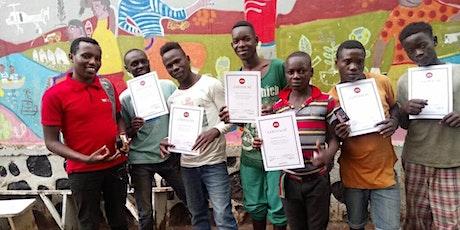Lär av Placide - vår mesta TTT-tränare i Rwanda, Kongo, Uganda tickets