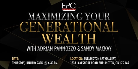 Maximizing Your Generational Wealth tickets