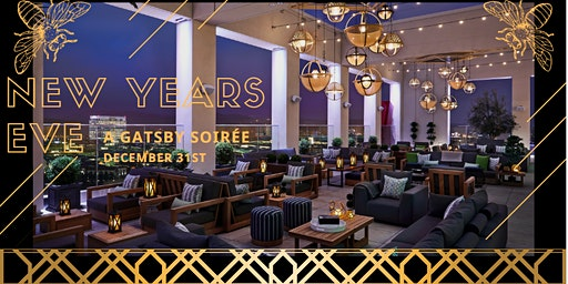 New Years Eve 2020 Gatsby Party @ Hive and Honey Rooftop Bar