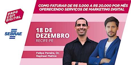 Fature de R$ 5.000 a R$ 20.000 por mês com serviços de marketing digital ingressos