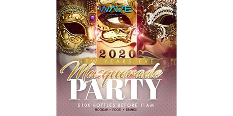 NYE Masquerade Party at Wave Lounge tickets