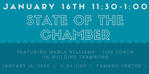 State of The Camano Island Chamber 2020 & Building Team Work with Marla Williams