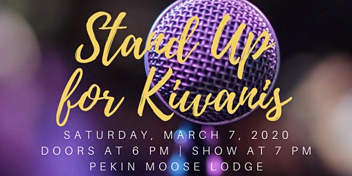 Stand Up for Kiwanis Comedy Night