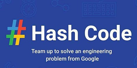 # Hash Code 2020 Google Competition Leicester tickets