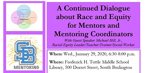 A Continued Dialogue on Race & Equity  for Mentors/Mentoring Coordinators
