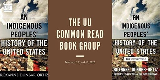 Common Read Book Group: An Indigenous Peoples' History of the United States
