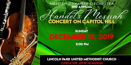 2019 Messiah on Capitol Hill - Lincoln Park UMC tickets