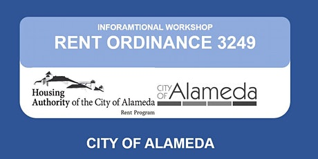 Alameda Rent Program Informational Workshop  tickets