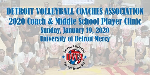 DVCA  2020 Coach & Player Volleyball Clinic