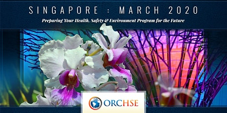 ORC HSE's 2020 Asia-Pacific Spring Meeting tickets