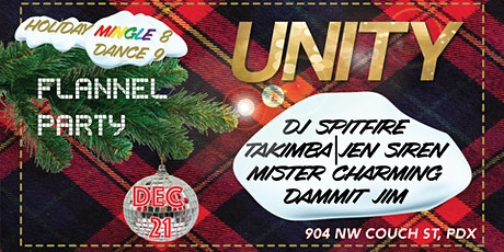 UNITY Luxe Lounge - Flannel Party tickets