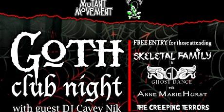 Mutant Movement/ Dead And Buried: Goth Club Night - DJ Cavey Nik tickets