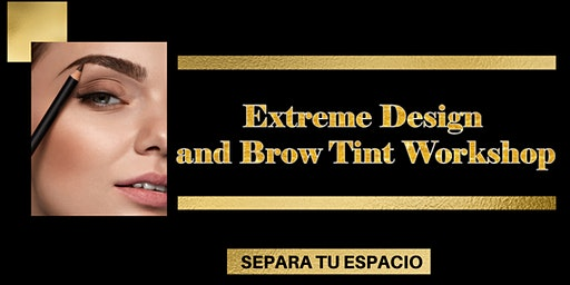 Extreme Brow Design and Tint Workshop