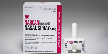 Community Overdose Prevention and Narcan Training tickets