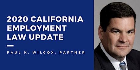 2020 California Employment Law Update tickets