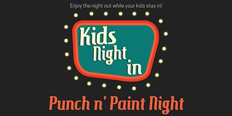 Punch n' Paint tickets