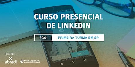 Curso Presencial de LinkedIn em São Paulo ingressos